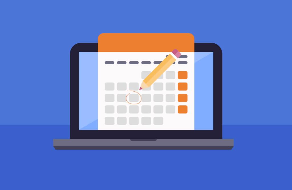 Content calendar | Four Dots