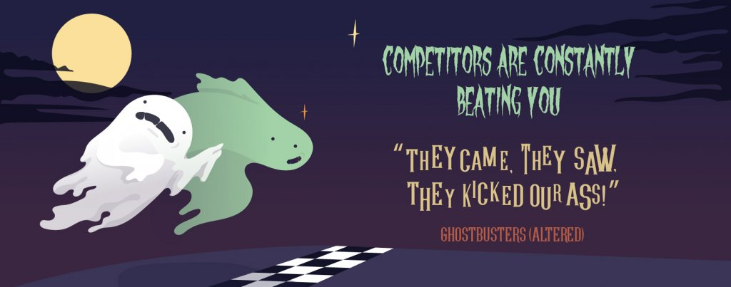 Competitors beat you | Four Dots