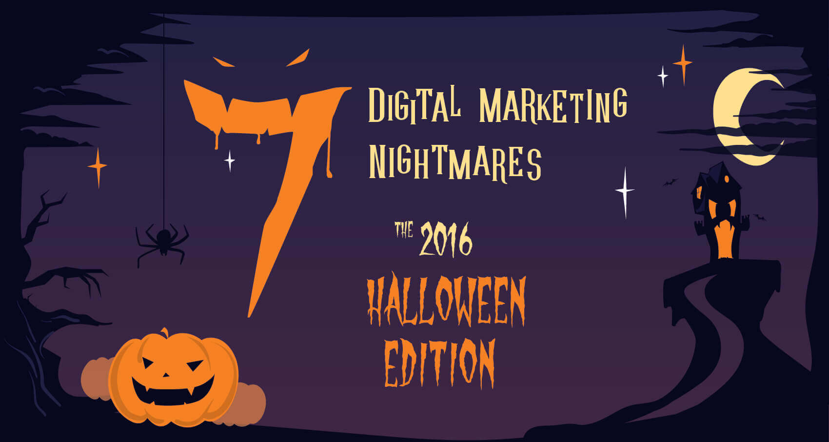 7 digital marketing nightmares: the 2016 halloween edition | four dots