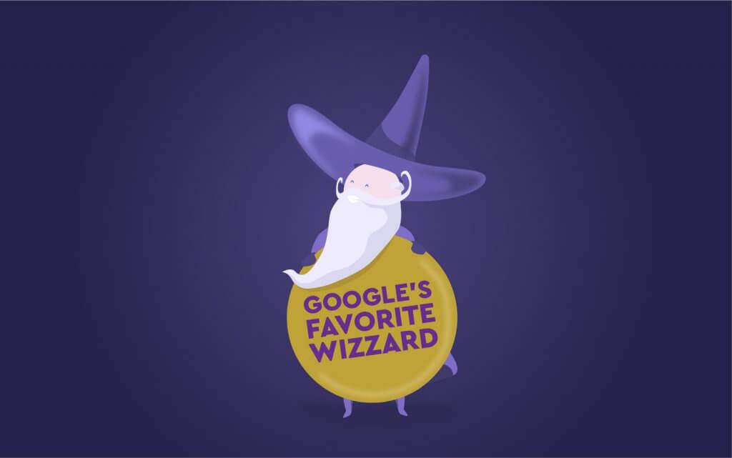 Google's Favorite Wizard | Four Dots