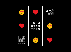 Featured image Infostarters & Art&Code | Four Dots
