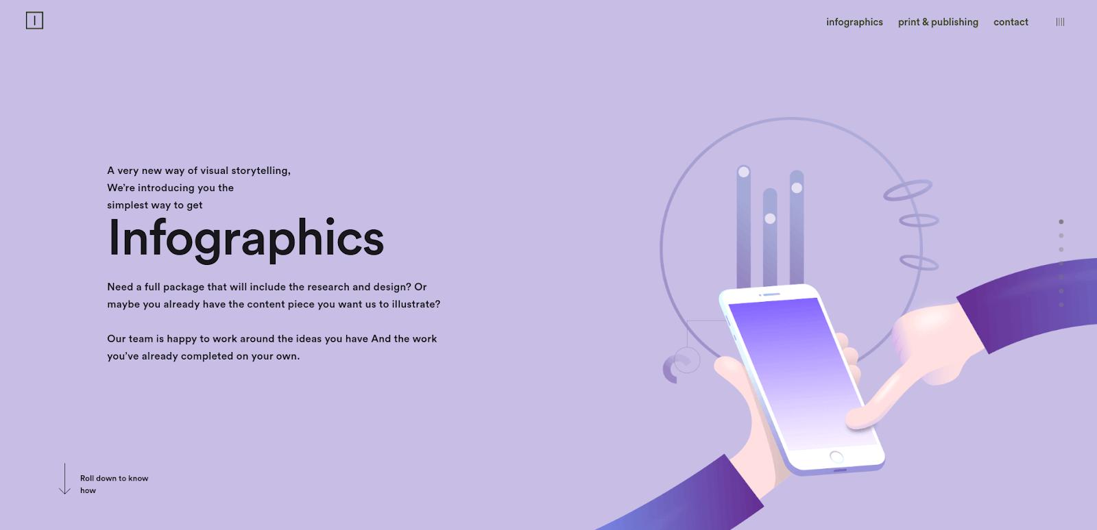 Infographics Infostarters & Art&Code | Four Dots