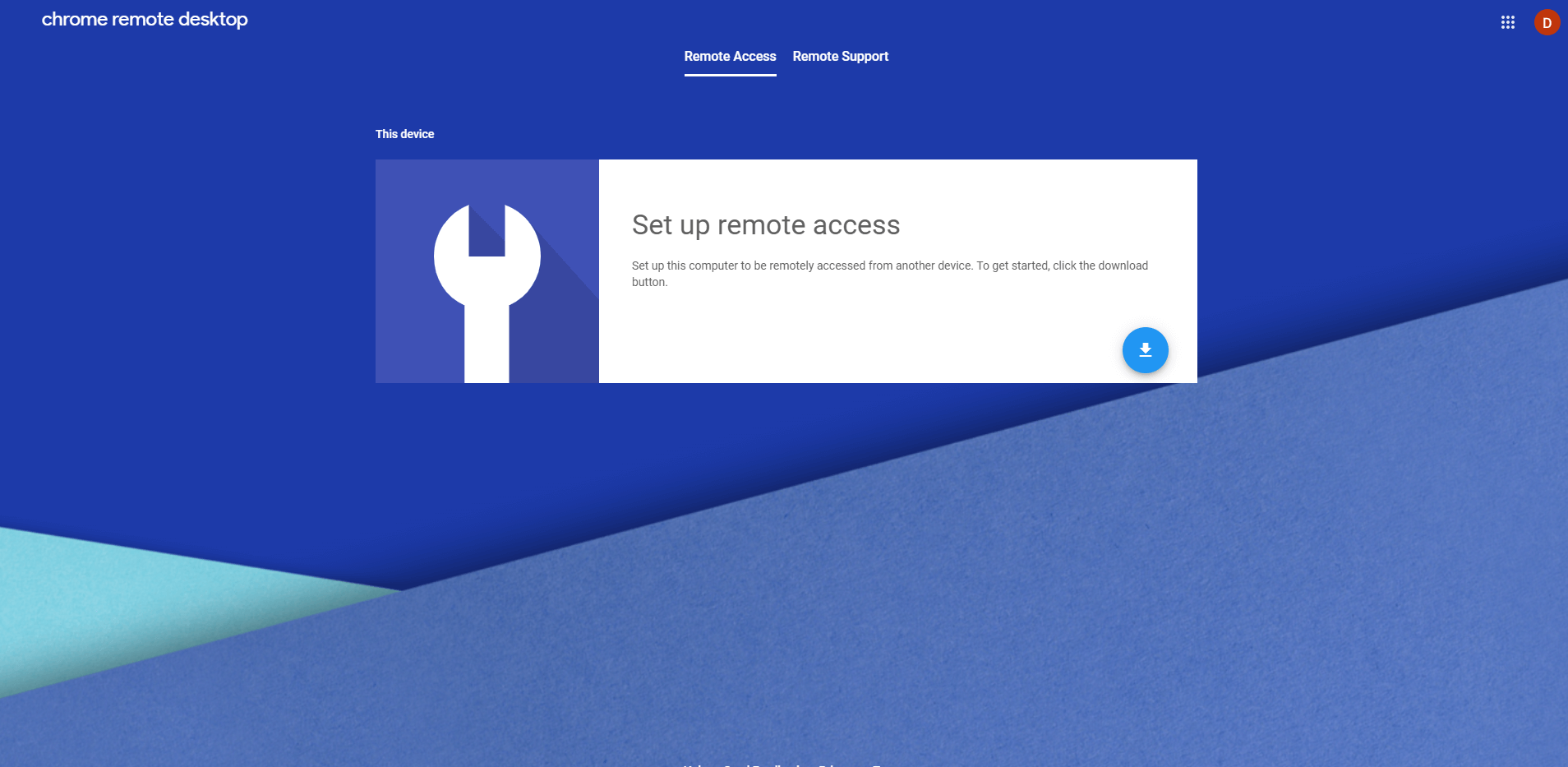 Chrome Remote Desktop | Four Dots