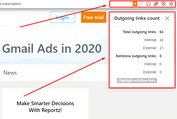 Ahrefs SEO Toolbar | Four Dots