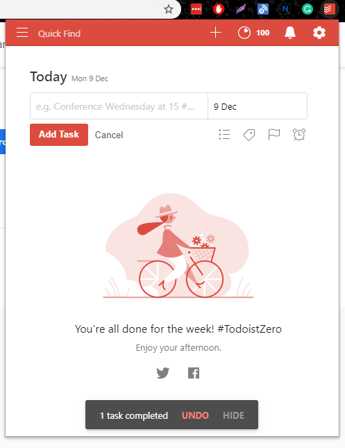 Todoist: To-Do list and Task Manager | Four Dots