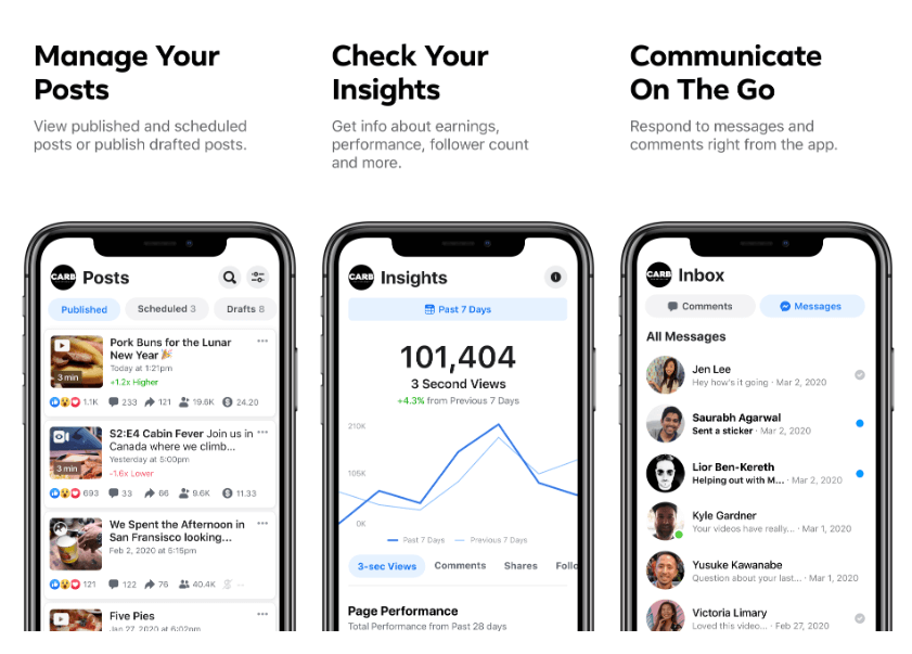 "Facebook Launches ""Creator Studio"" App 