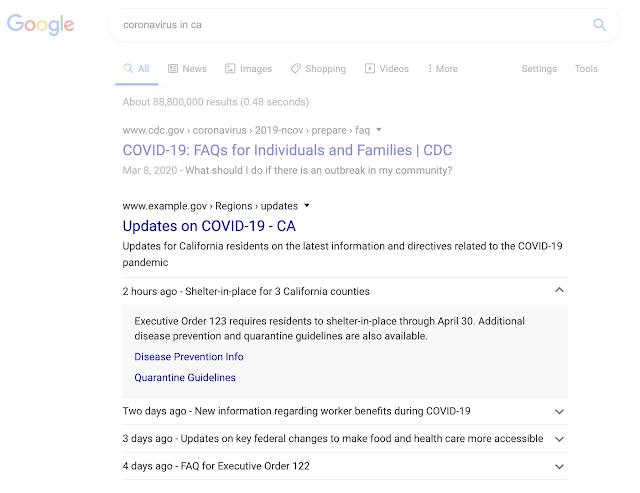 covid-19 announcement GMB | Four Dots