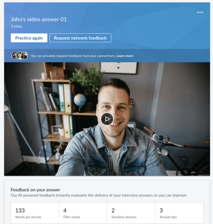 LinkedIn new tools for job interview assists | Four Dots