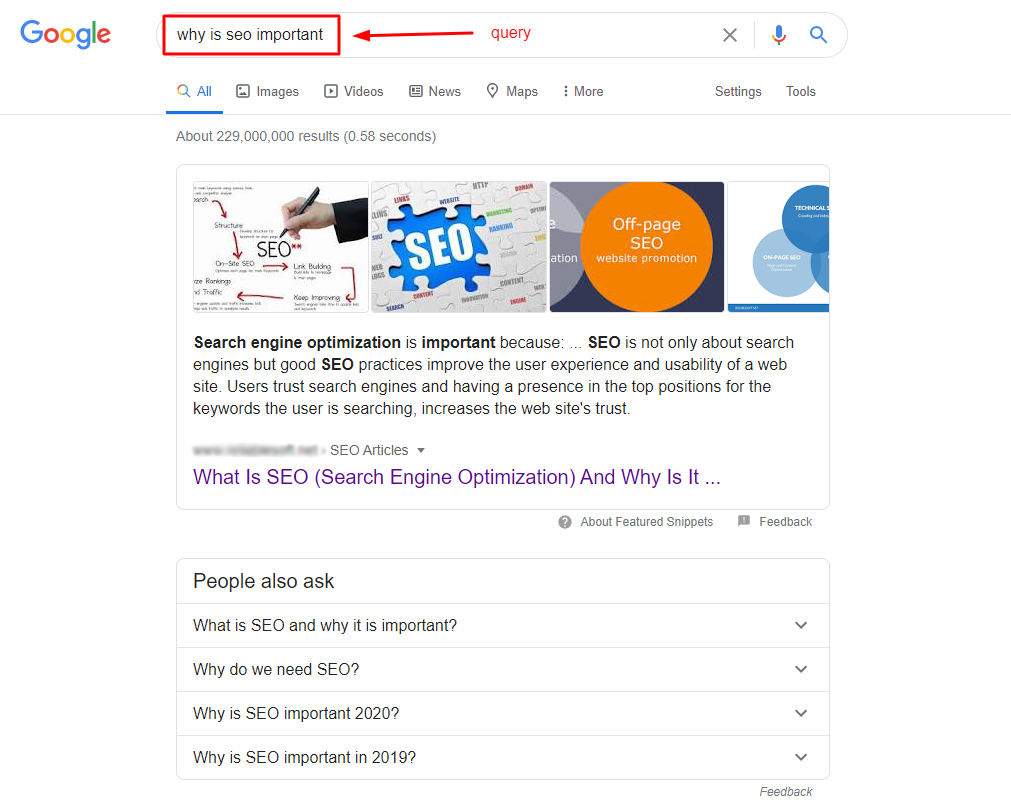 Featured Snippets Update | Four Dots