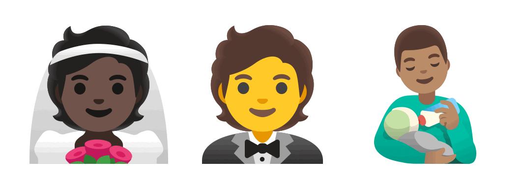 Google emojis   Four Dots