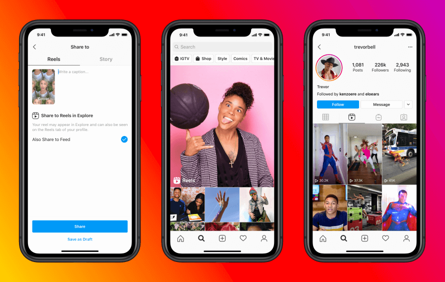 """TikTok's Biggest Competitor """"Instagram Reels"""" Launches Worldwide 