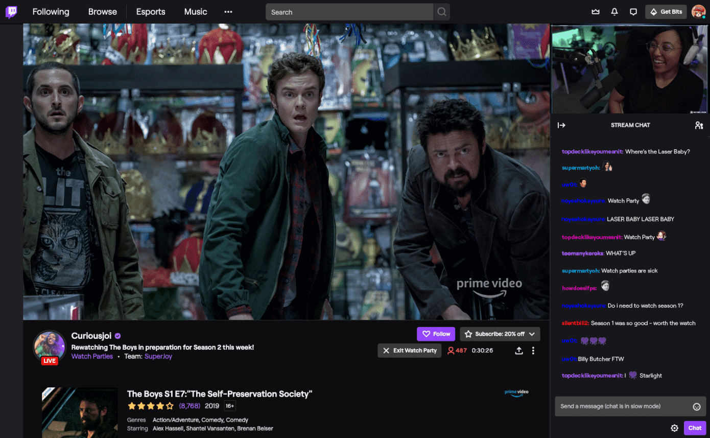 Twitch Watch Parties Available to Creators Around the World | Four Dots